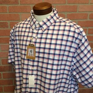 Cremieux Everyday Oxford 2XB Plaid Shirt (4N34)